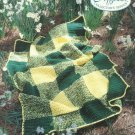 *Crochet Afghan Collector's Series - Cozy Picnic Blanket - 2 Strands of Yarn