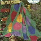 *Crochet Afghan Collector's Series - Big Bold Flowers - Take-Along Blocks