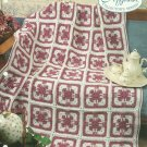 *Crochet Afghan Collector's Series - Afternoon Tea - Take-Along Blocks