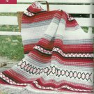 *Crochet Fantasy Best Afghans 1997 - Indian Blanket - Jade