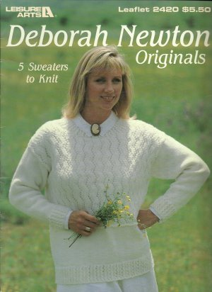 * 5 * Lacy Sweaters to Knit - Deborah Newton Originals -