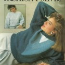 * 2 * Sweater Knitting Patterns - Fashion Points by Bobbie Graham