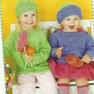 *Knits for Kids * 5 * Baby and Toddler Heart Cap Dress Patterns