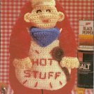 *Crochet Hot Stuff Barbeque Mitt for the Chef in the House