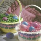 *Crochet Easter Baskets - Adorable Witch - Santa -