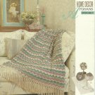 "*Crochet Bouqet Afghan Pattern - Victorian Charm - 48"" X 60"""