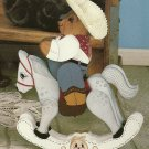 *Nancy Snellen & Betty Stokes - Brushed Memories- Bunny - Cowboy Bear