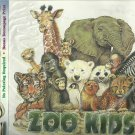 *Iron-On Transfer or Decoupage Print - ZOO - Kids - 8.75 X11