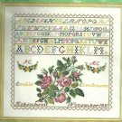 *Cross Stitch Kit EVA ROSENSTAND  ROSE & SAMPLER 12-559U