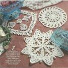 *Annie's Attic Crochet * 7 * Delicate Mini Doilies