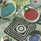 *Annie's Attic * 8 * Quick Fun-to-Stitch Accent Rugs with a Q-ook