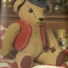 * Crochet Antique Teddy Bear - Baby Afghan and Bunting PLUS