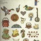 *Cross Stitch Pattern - 21 MINI MOTIF DESIGNS ~ Graphworks Ltd.