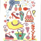 * Cross Stitch Pattern FASHIONISTA SAMPLER 2006.