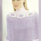 * Knit and Crochet PATONS Elegant Poncho Patterns
