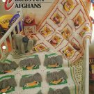 Circus Fun Pattern - Elephant/Clown - Annie's Crochet & Quilt Afghan Club -