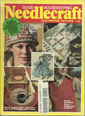 *Vintage Good Housekeeping Needlecraft Magazine 1977/1978