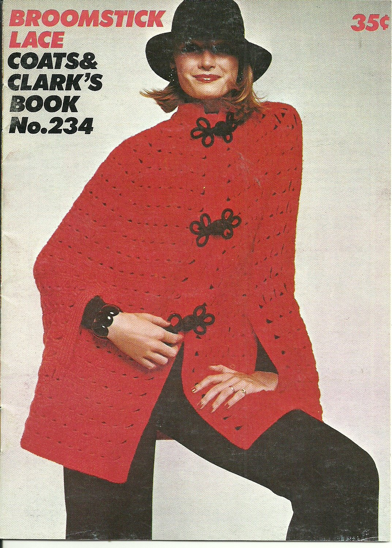 *Vintage Broomstick Lace Pattern Booklet - 1974