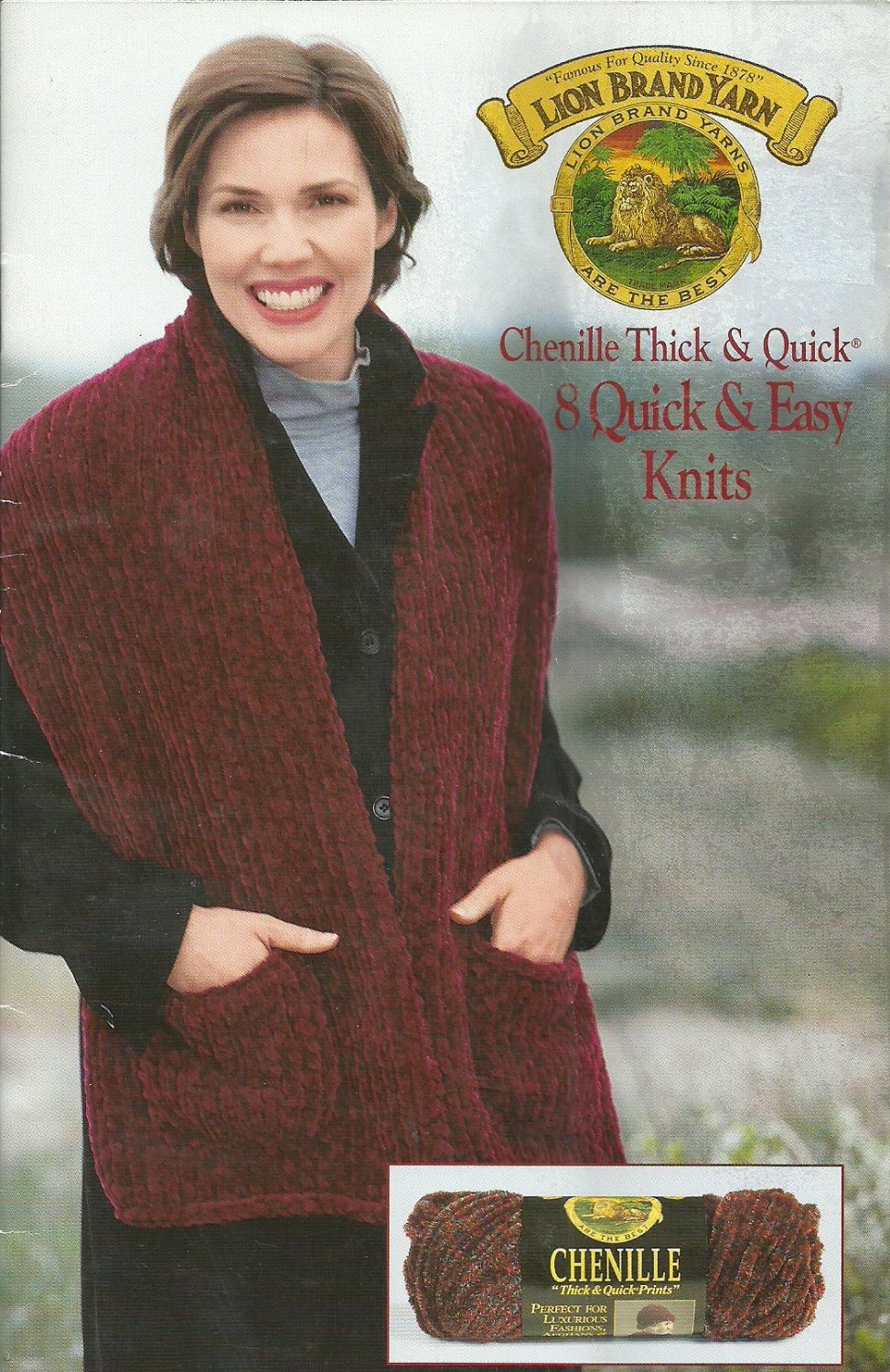** 8 * Quick and Thick  Knits - Chenille Yarn