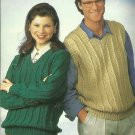 *Quick Knit and Crochet Jackets - Vests - Sweaters for Her and Him