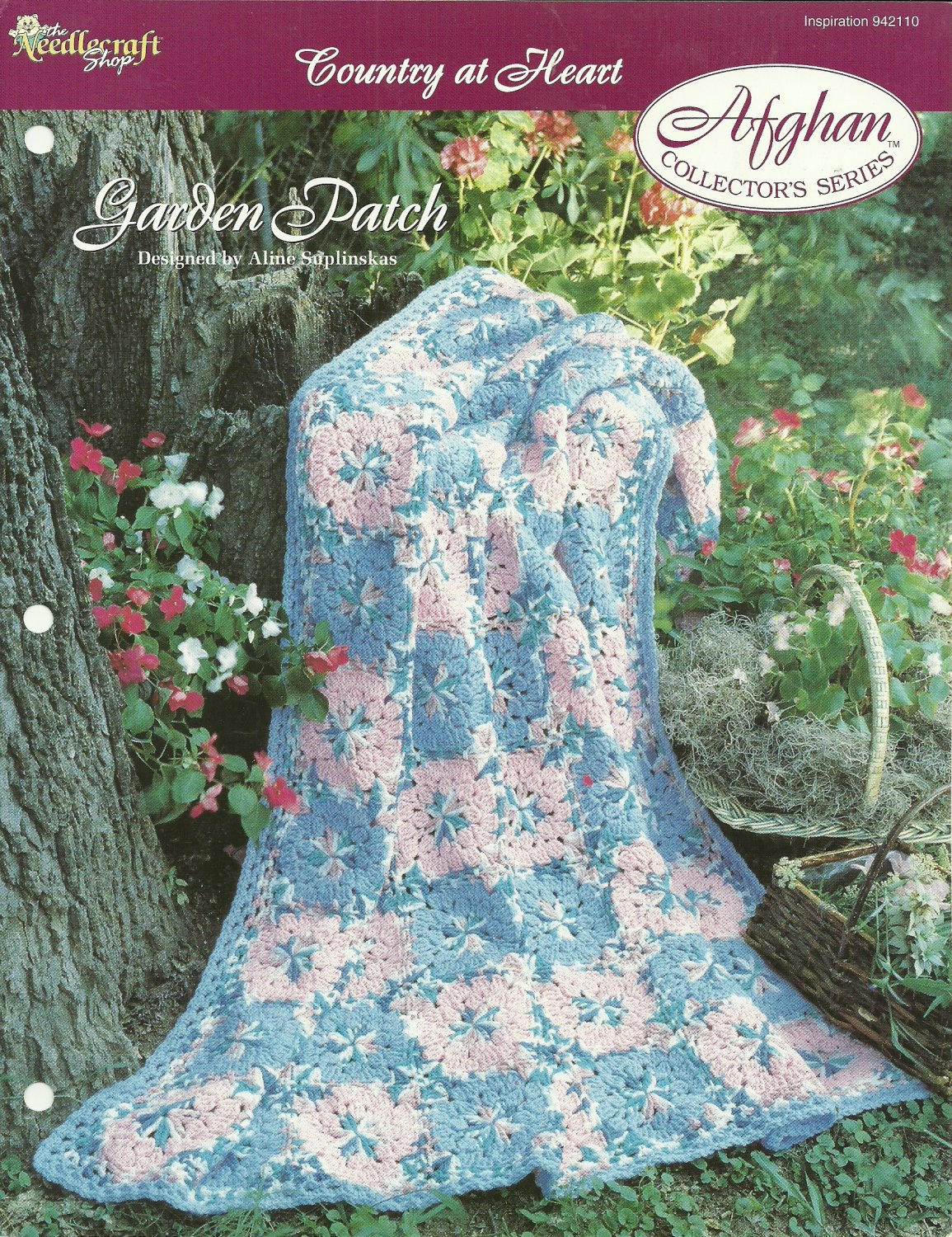 *Crochet Afghan Collector's Series - Garden Patch