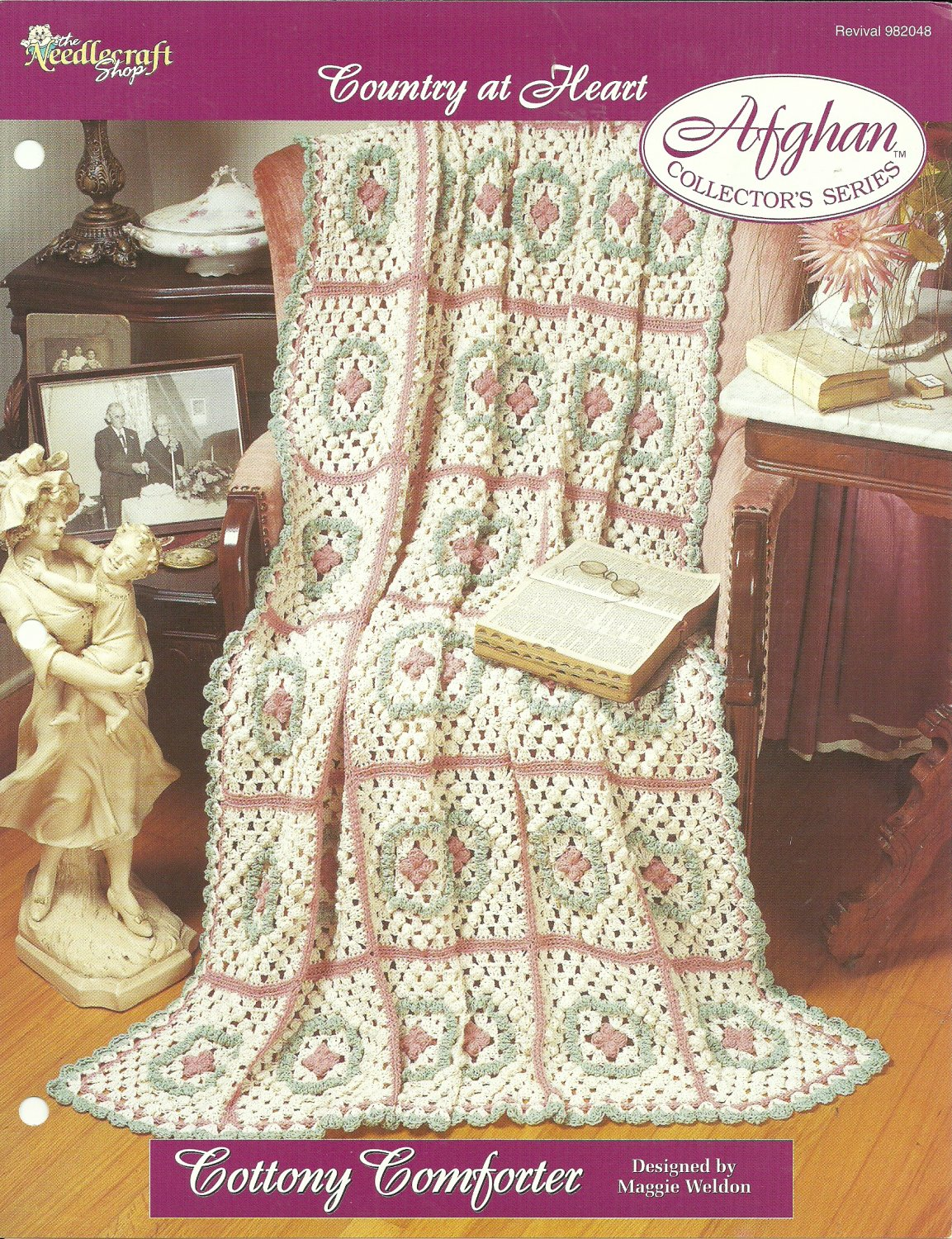 *Crochet Afghan Collector's Series - Cottony Comforter