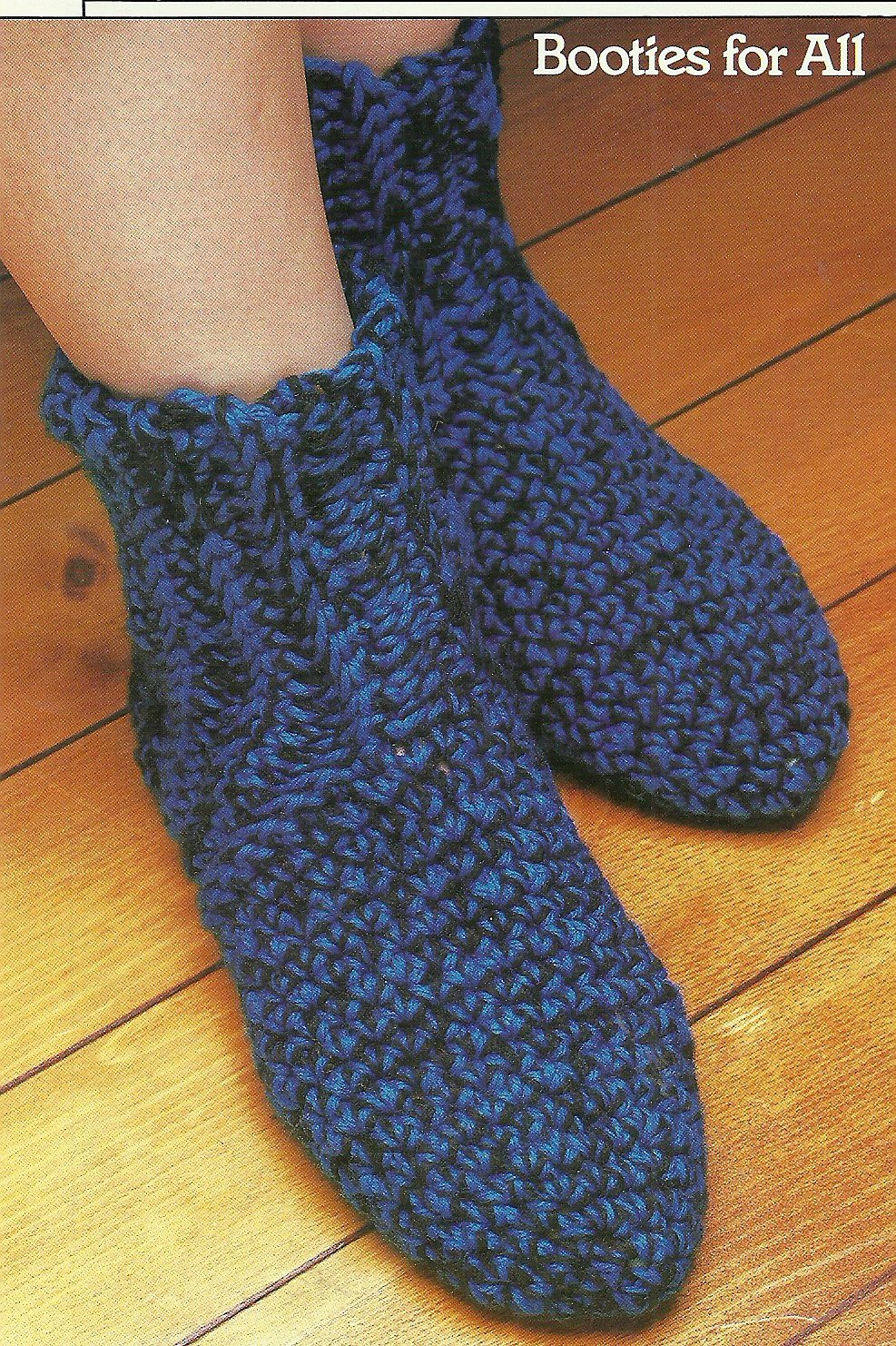 *Annie's Attic Crochet Booties for All - Sleeper for Baby