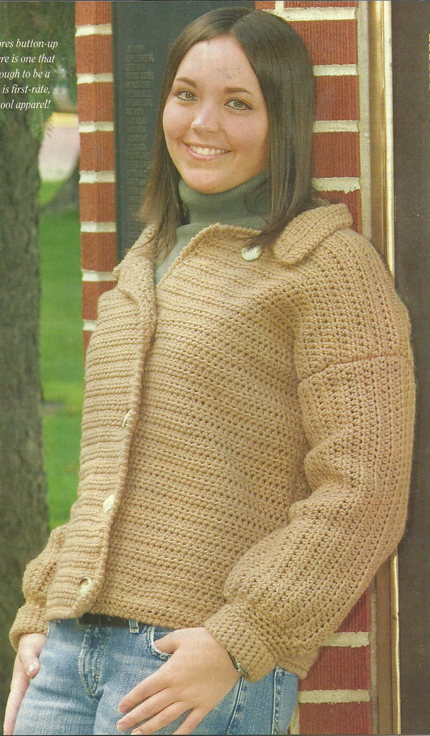 *Crochet World Magazine - Oct -2005 / Mother Daughter Ponchos in Fun Yarns-