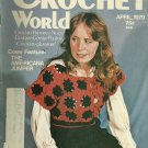 *Crochet World Mag - April -1979/ Bird Filet Crochet Mat