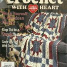 *Crochet with Heart - Jazzy Vest - Rainbow Dream Baby Afghan - Sunshine Leyette