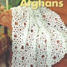 *Classic White Afghans Crochet - * 5 * Designs Alabaster Filet