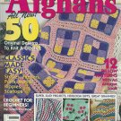 *Country Afghans - Indian Blanket - Cactus Coverlet - Desert Sands -