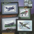 *6 Cross Stitch Patterns Stoney Creek LEGENDARY AIRCRAFT