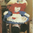 "*Rag Doll Crochet Pattern - 11"" tall - Favorite Shawl -"
