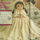 "*Bride Bed Doll Pattern ""Anabelle"" - 10"" tall - Lavender Bath Set"