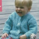 *Crochet Fantasy Halloween  - Jackets - Afghan - Baby Boy Cardigan