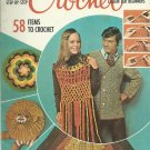 * Crochet McCall's Step-by-Step - Afghans - Pillows - Ponchos - Toys