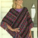 *Annie's Attic - Poncho Panache - Crochet 16 Designer Poncho Patterns
