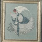 Lavender & Lace ICE ANGEL Cross stitch Pattern #22