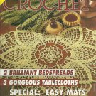 "*Decorative CROCHET - #35 - Tablecloth 58""x99"" - 2 Brilliant Bedspreads"