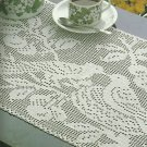 *Decorative CROCHET #9 - Love Birds - Squirrels - Vineyard Tablecloth
