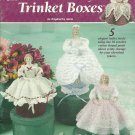 *Annie's Attic Doll Crochet * 5 * VICTORIAN LADY TRINKET BOXES