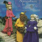 """*Shady Lane Crochet pattern SOMEWHERE IN TIME for 15"""" Dolls"""