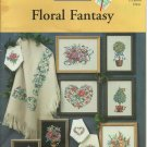 *FLORAL FANTASY Cross Stitch  11 cross stitch patterns