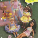 "*Annie's Attic - Crochet Playset 9.5"" Doll Size"
