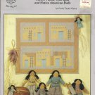 *Southwestern Style Pueblo Village Wall Quilt and Dolls