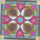 *Stained Glass Art - Hidden House Window Pattern S-2