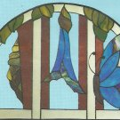 *Stained Glass Art - Hidden House Window Pattern J-4