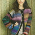 *Knit * 30 * Designs in Living Color - Hats - Vests - Afghans