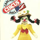 "*Daisy Clown Doll Crochet Pattern - 15.5"" tall -"